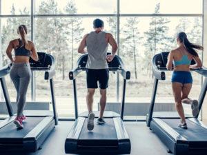 Treino de cardio lion fitness
