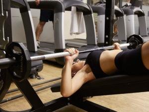 equipamento supino lion fitness