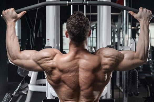 Puxada alta como conquistar costas definidas